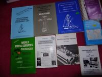 Frequency Lists and Lists of Stations books, pick and mix