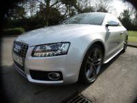 Audi A5 S5 V8 QUATTRO FULL AUDI SERVICE HISTORY (ice silver metallic) 2008