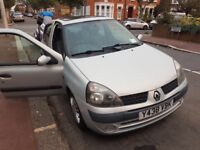 RENAULT CLIO EXPRESSION 16V - SILVER (VERY LOW MILEAGE FOR YEAR OF CAR)