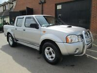 2004 (54) NISSAN NAVARA TRUCK DIESEL FULL LEATHER Part exchange available / Credit & Debit cards