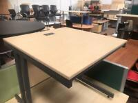 800mm x 800mm Square Office Desk