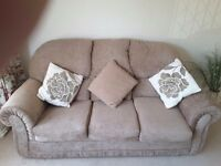 Three piece suite- nearly new
