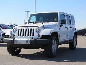 2012 Jeep Wrangler Sahara! Rust Protection! 4x4!