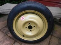 SPARE TYRE - SPACE SAVER - FROM HONDA JAZZ