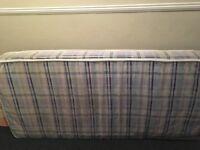 Single mattress good condition hardly used