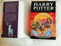 Harry Potter & The Deathly Hallows, JK Rowling (Hard Back First Edition: Bloomsbury, 2007.)