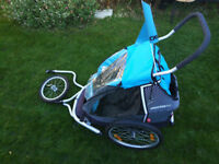Croozer kids for 1 bicycle trailer (3 in 1)