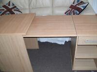 Large solid wood desk/worktop