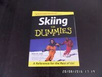 New, Dummies guide to Skiing