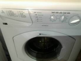Hotpoint washing machine as new. Can arrange delivery.