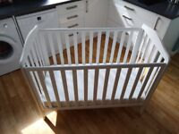 Mothercare Takely White Cot