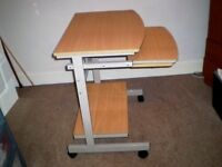 desk and chair keyboard