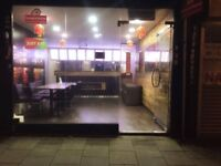 For sale a busy Restaurant/takeaway with two large kitchen (Indian and Chinese)