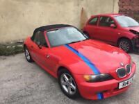BMW Z3 1.9 Red 133,000 miles for sale £1,000