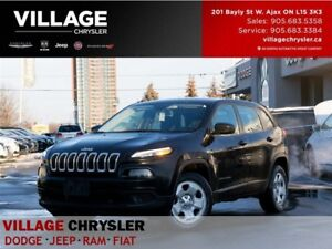 2015 Jeep Cherokee Sport|Cold Weather Grp|Remote Start|Bluetooth