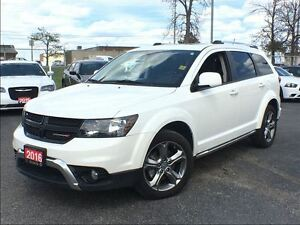 2016 Dodge Journey CROSSROAD**AWD**7 PASSENGER**SUNROOF**LEATHER