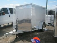 2014 Cargo Express 5x8 All Aluminum - Enclosed