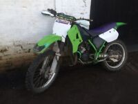 Kawasaki Kmx125 2001 offroad bike, Sale or Swap, W.H.Y