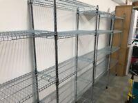 Ikea Zinc chromate shelving