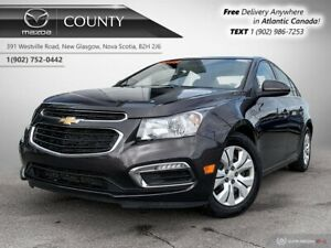 2015 Chevrolet Cruze $53/WK+TAX! LT! LOW KMS! AUTOMATIC! ONE OWN