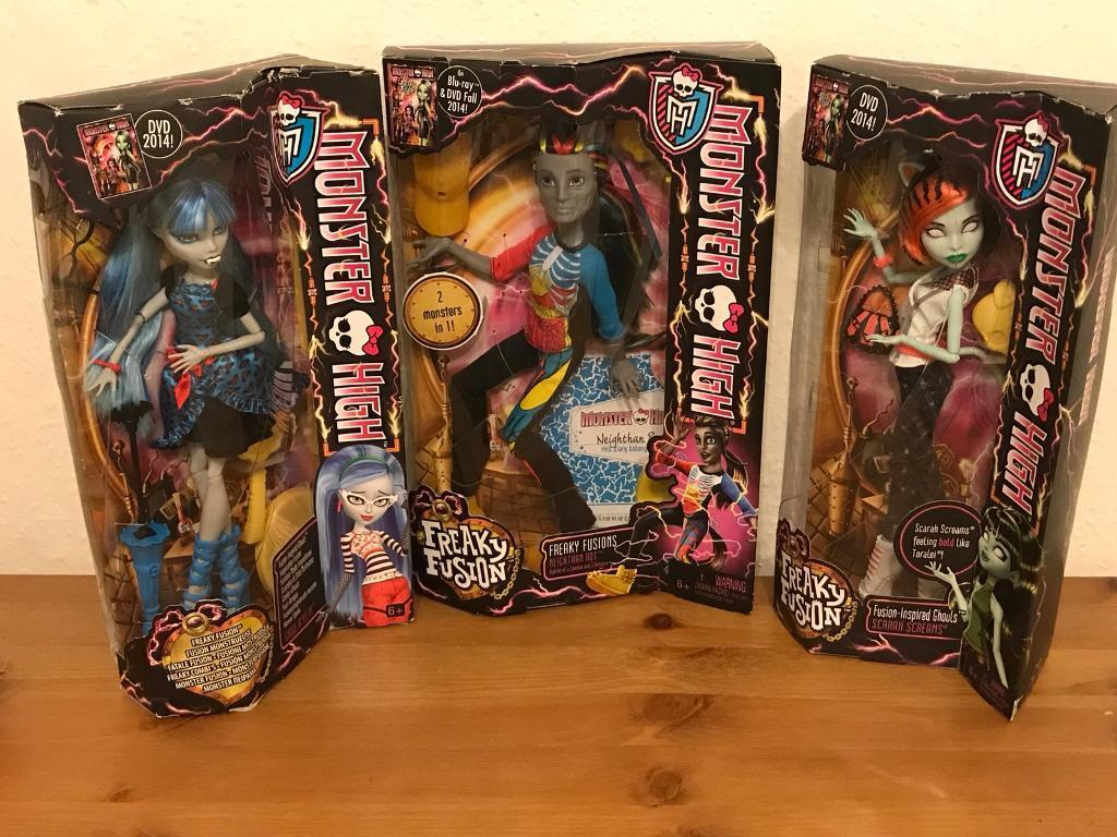 Monster High Dolls. Freaky fusion. Brand new