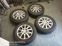 "VW Touareg or Porsche Cayenne 17"" Wheels with good Tyres"