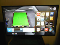 "EX DISPLAY 50"" SMART LED TV WITH FREEVIEW HD BUILT IN..... NETFIX, YOUTUBE ETC 2016 MODEL"