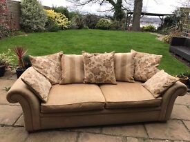 Good quality 4 seater and 3 seater sofas