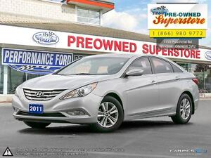 2011 Hyundai Sonata GLS***sunroof, bluetooth, alloys***