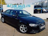 AUDI A4 2.0 TDI QUATTRO SE TECHNIK 4d 174 BHP A GREAT EXAMPLE INSIDE AND OUT (black) 2012