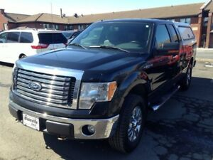 2012 Ford F-150 XLT + 4X4 + SUPERCAB
