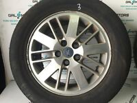 Ford galaxy MK3 2006-2010 ALLOY WHEEL R16 WITH TYRE FG07-3