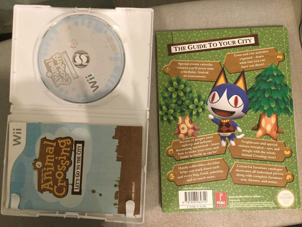 Animal Crossing: Let's Go To The City -Wii Speak, game and guide | in  Lochend, Edinburgh | Gumtree