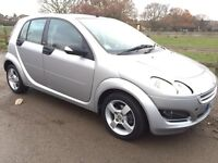 2006 06 reg smartcar FORFOUR,1.1 passion,FSH,MOT MAY 2017,great condition