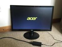 Acer pc monitor 21.5 inch