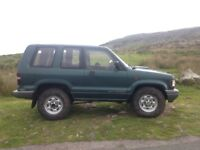 Isuzu Trooper 3.1 TD Off Roader Green Laner