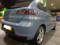 2006 top spec seat ibiza 1.4 sport with bodykit DRIVEAWAY OR DELIVERY AVAILABLE