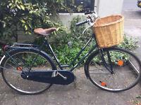Vintage Dutch Havera bike with wicker basket