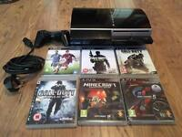 Play Station 3 with Games , excellent condition