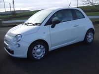 Fiat 500 60Reg 1245cc And only covered genuine 38845 Miles. Pristine condition. White