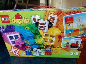 Duplo construction set XL 110 piece