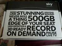 Sky +HD box come with box remote control