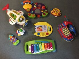 Many toys Vtech and others