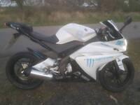 Yzf r 125cc swap 4 day van