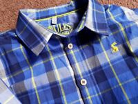 Boys Joules long sleeved shirt mint condition