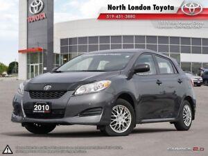 2010 Toyota Matrix Budget hatch with Toyota reliability. Perf...