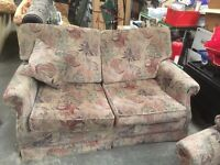 3 piece sofa suite 2 seater sofa settee couch pull out bed sofa bed and 2 chairs