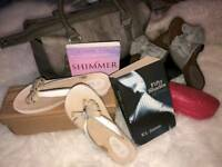 Sandals x 2 ( BNIB) Size 3/4 - Books - Bag