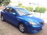 MAZDA3 1.6 TS 5dr 2005 VERY CLEAN CAR FULL SERVICE HISTORY ** 12 MONTH MOT **LADY OWNER ** NEW TYRES