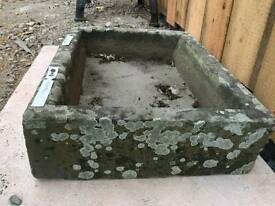 Antic Stone sink very old
